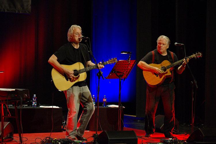 David Knopfler e Harry Bogdanovs