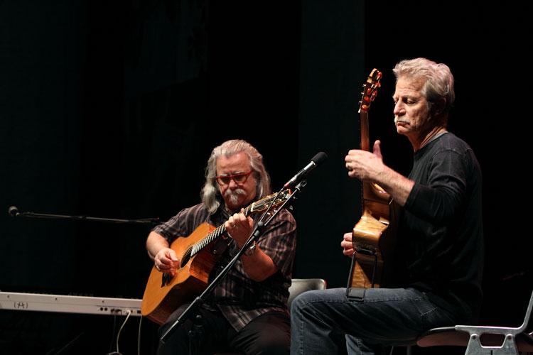 Tim Sparks e Alex de Grassi - foto di Piero Angelo Legari