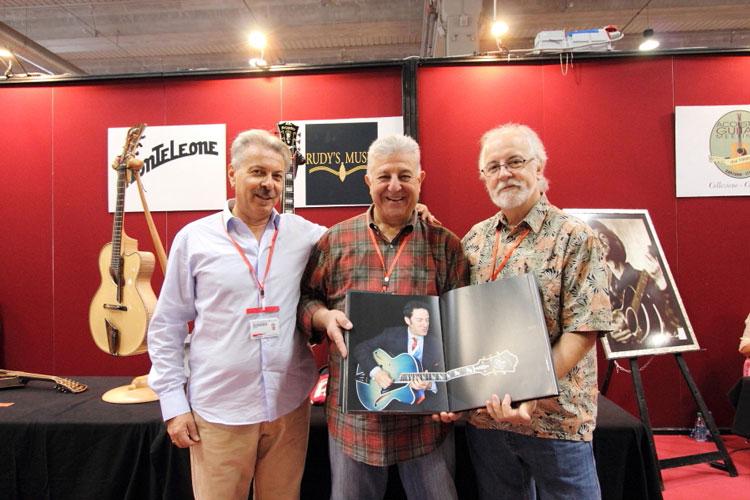 Alessio Ambrosi, Rudy Pensa e John Monteleone - Acoustic Guitar Village 2015