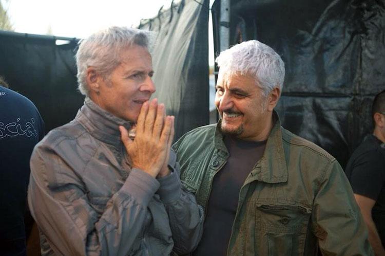 Pino Daniele e Claudio Baglioni