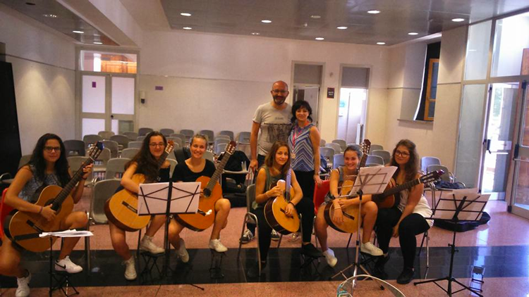 Lezione di musica d'insieme con Ciro Carbone
