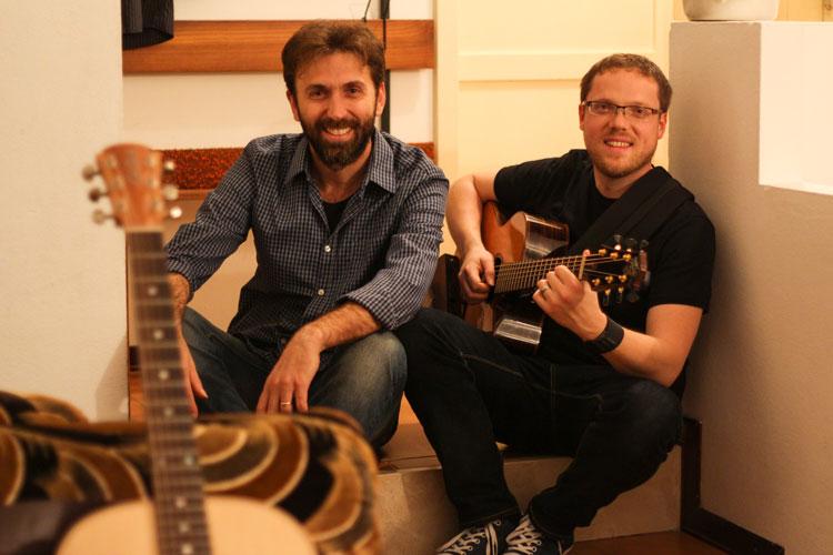 Luca Francioso e Trevor Gordon Hall