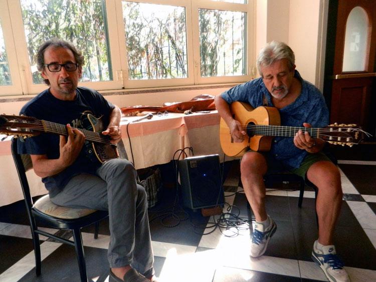 Claudio Tuma e Juan Carlos 'Flaco' Biondini