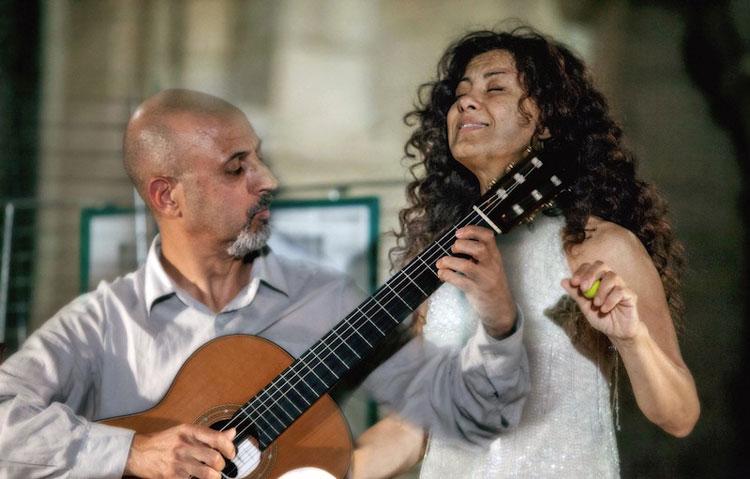 Sergio Fabian Lavia & Dilene Ferraz - foto di Jean Marie Guerin