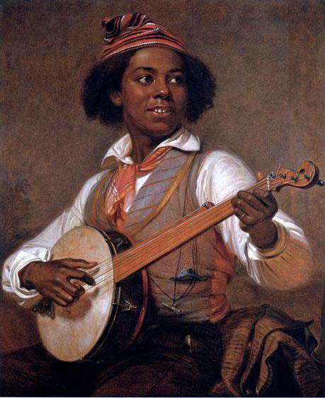 William Sidney Mount -The Banjo Player, 1856