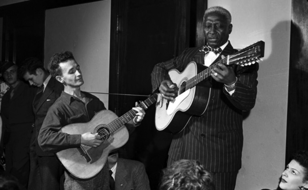 Woody Guthrie e Lead Belly