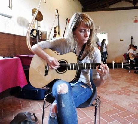 Camilla Conti all'AGM di Sarzana 2014