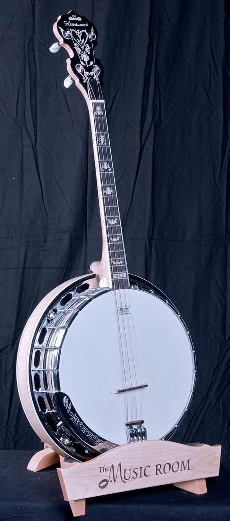 Moderno Irish banjo a scala corta